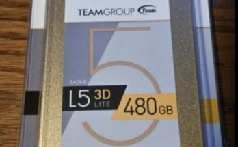 Review – Team Group L5 LITE 3D 480GB SSD (T253TD480G3C101)