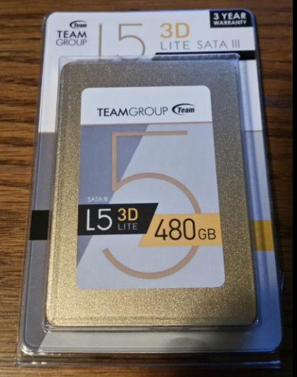 Review – Team Group L5 LITE 3D 480GB SSD (T253TD480G3C101)