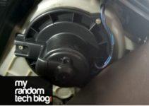 blower motor ticking