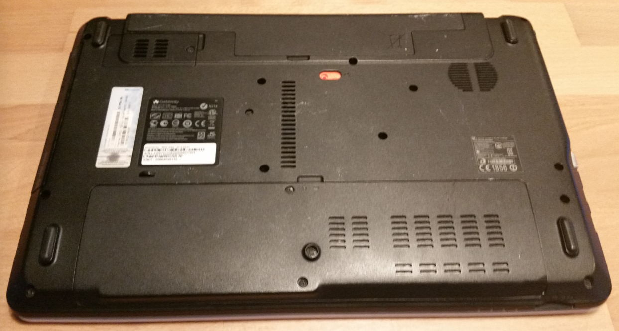 Adata SU650 SSD swap out.