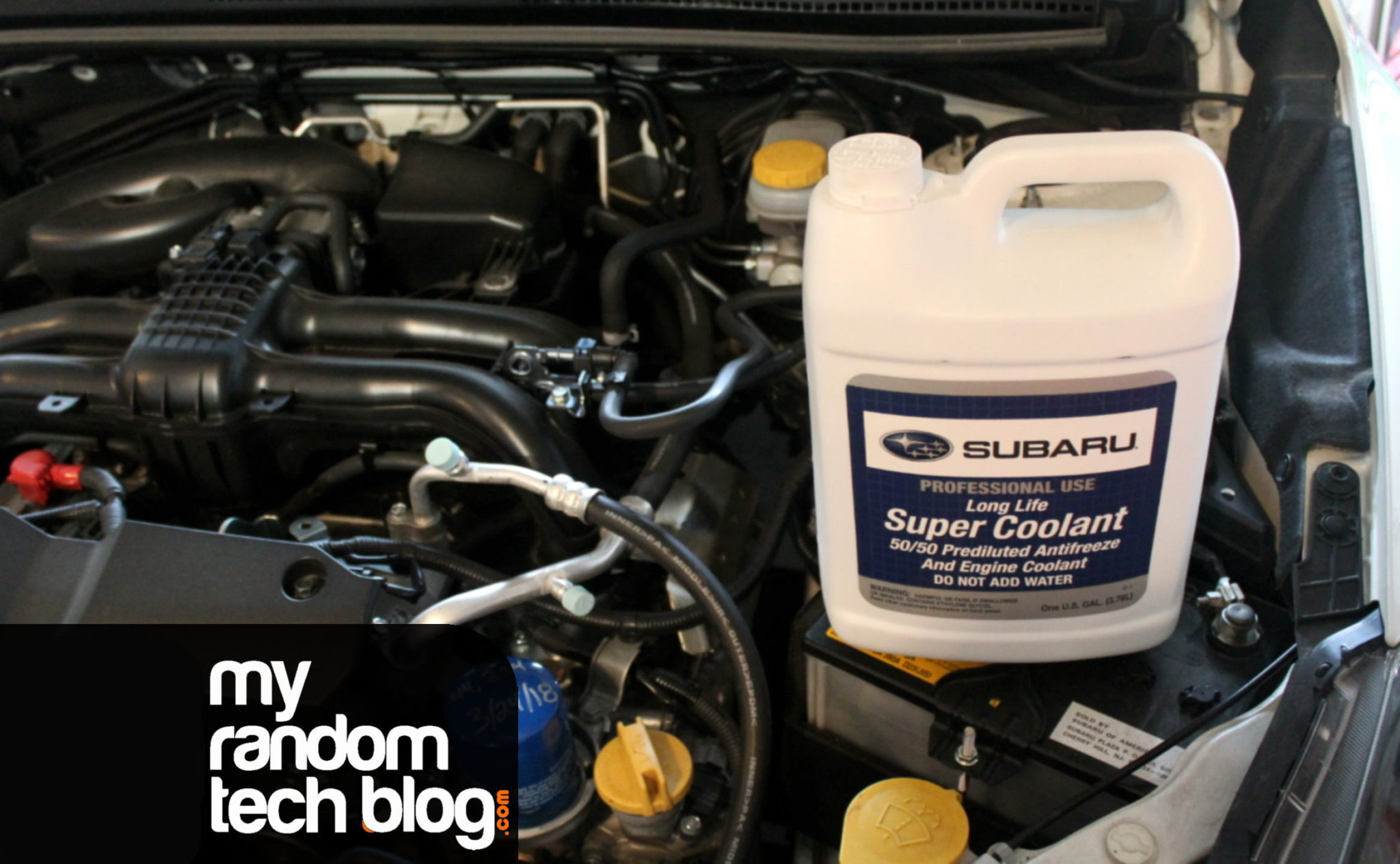 Coolant smell after driving your Subaru?