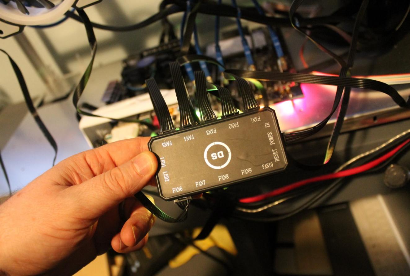 Leddess Wireless Rf Rgb Fan Review Electric Wiringwiringfan2speedpng Controller