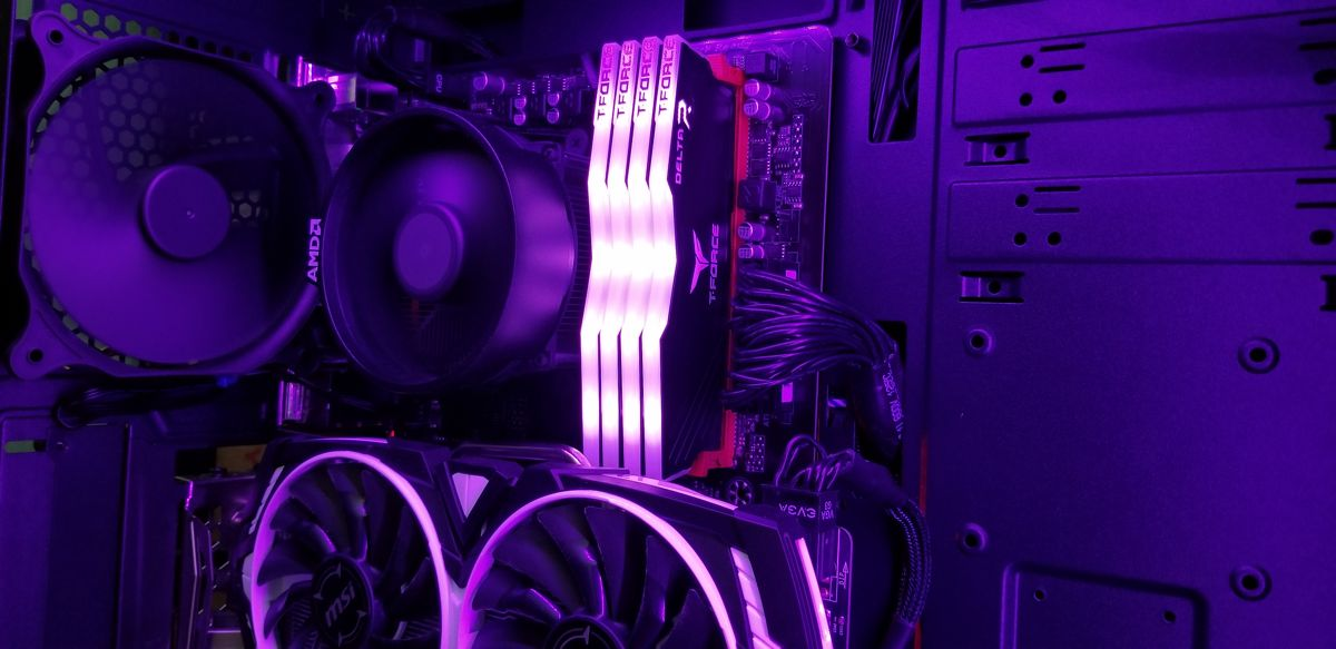 T-Force Delta RGB Ram review added 2 more sticks.