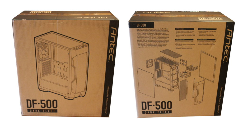 Antec DF500 packaging