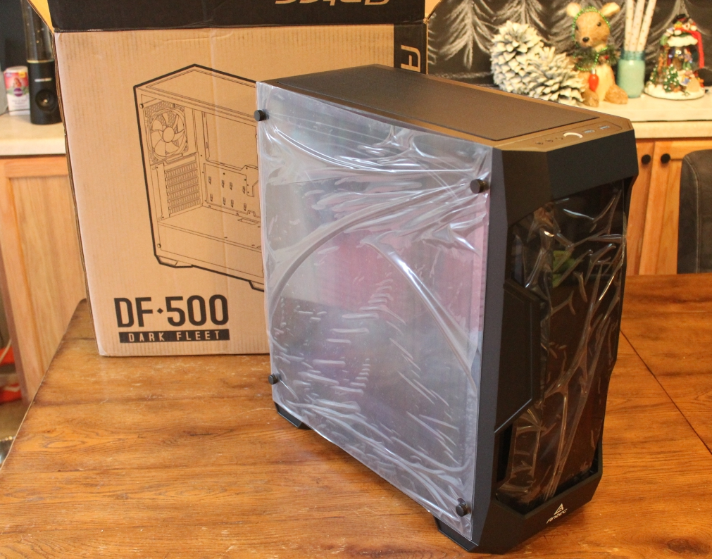 DF500 case removed from box.