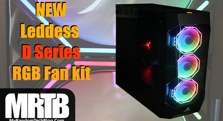 DS Leddess D series 3x 120mm fan kit
