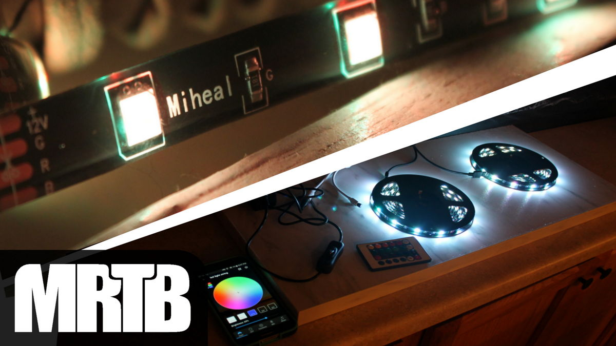 Miheal LED Light Strip Review cover photo.