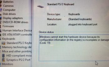 HP Pavilion Keyboard not working