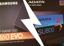 Samsung 860EVO vs Adata SU800 comparison