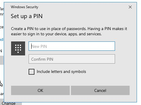 How to add a PIN to Windows 10