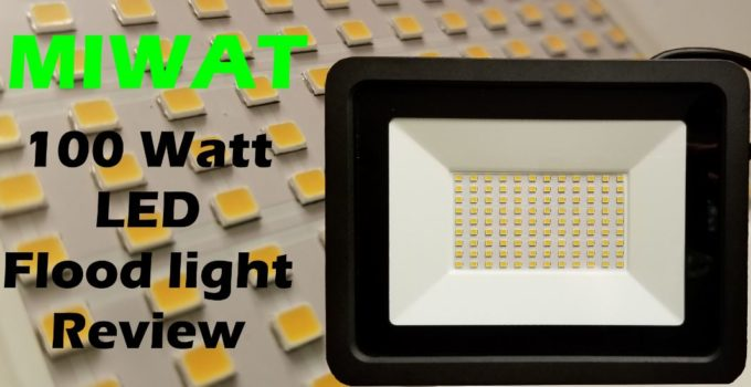 Miwat LED Floodlight review