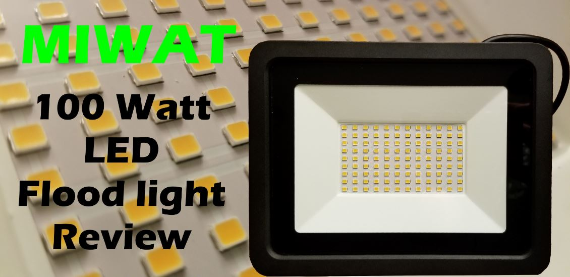 Miwat LED Floodlight 100W