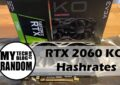 RTX2060KO Hashrate cover