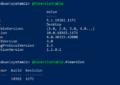 Powershell Version command