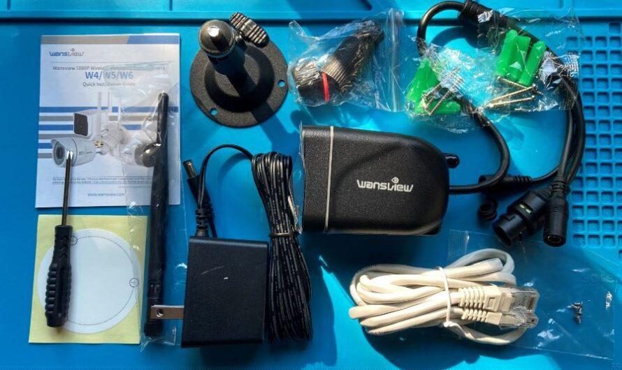 Wansview W6 BlueIris setup