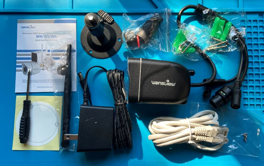 Wansview W6 IP camera and Blue Iris Compatibility